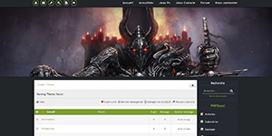 Thème Gaming Green V5